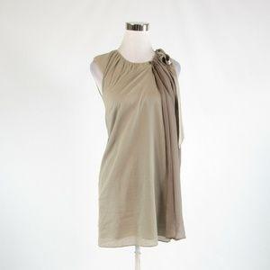 Taupe TONY COHEN 2 Love shift dress S